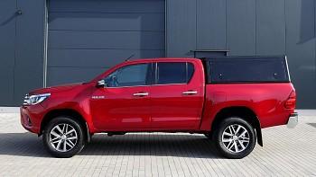 Alu-Cab DC Hardtop hliníkový Toyota Hilux 16+