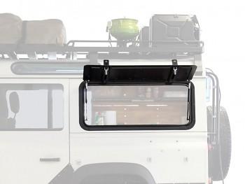 Land Rover Defender vyklápěcí okno-hliník Front Runner