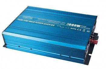 Sinusový měnič napětí z 24/230V + USB, 3000W
