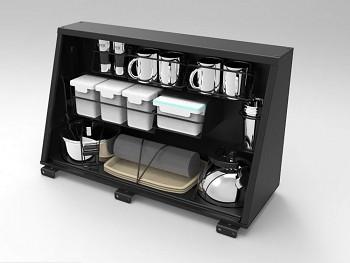 Alu-Cab Boční box kuchyň pro Hardtop