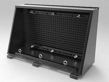 Alu-Cab Boční box mřížka na nářadí pro Hardtop