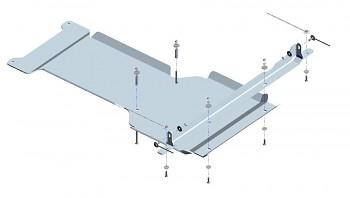 Kryt převodovky a přídavné převodovky D-Max 12+ i D-Max 17+