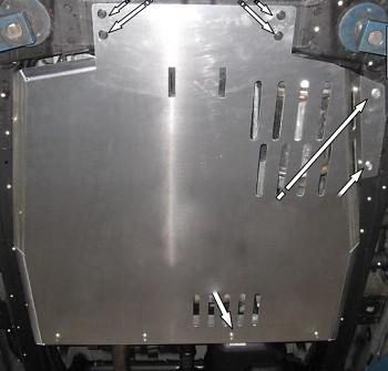 Kryt pod převodovku Amarok V6