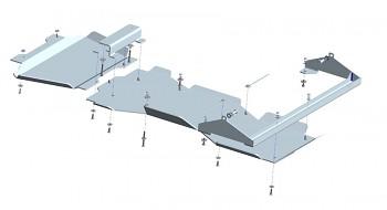 Kryt převodovky a přídavné převodovky X-Class