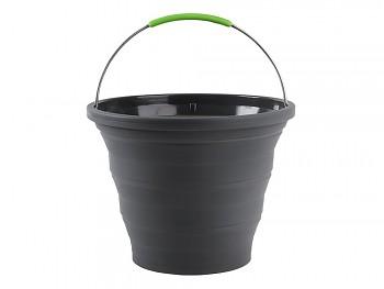 Silikonový skládací kbelík 10L