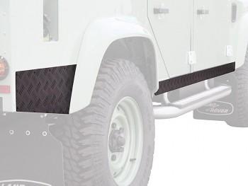 Front Runner Ochrana prahů Land Rover Defender 110 (1983-2016)-černá