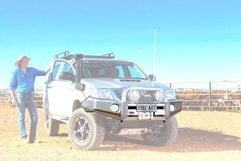 ARB Sahara Bar nárazník Hilux 05-11 bez oblouku