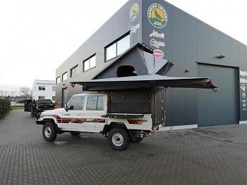 Alu-Cab Canopy Camper Toyota Land Cruiser Double Cab