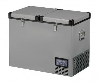 TB92DD Steel kompresorová autochladnička Indel B, 92L, 12/24/230V