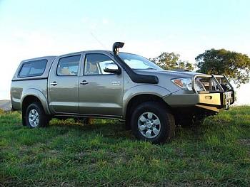Safari snorkel Toyota Hilux 2005-15