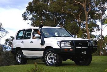 Safari snorkel Toyota Land Cruiser 100 1998+
