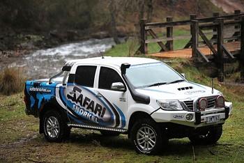 Safari snorkel Toyota Hilux 25, 10-2011+