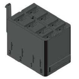 Instalační konektor (patice) pro rocker spínače